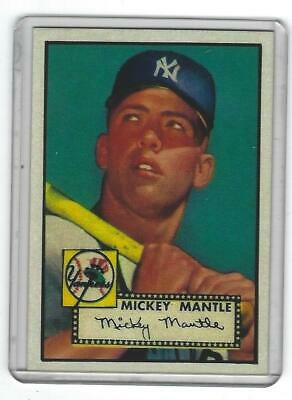 Lot Of 25 Reprint 1952 Topps 311 Mickey Mantle Type I