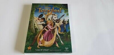 Tangled (DVD, 2011) USA Free Shipping!