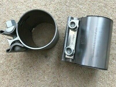 RANGE ROVER SPORT DISCOVERY EXHAUST CLAMP SLEEVE 55MM  WCL500030 x 2