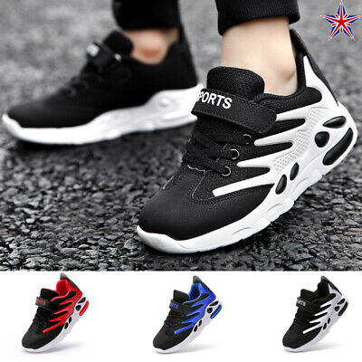 USA Kids Boys Girls Mesh Sport Athletic Running Shoes School Trainers Pumps Size