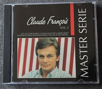 Claude François, master serie vol 2 - Best of, CD