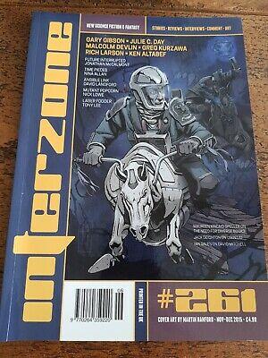 Interzone Magazine Science Fiction & Fantasy Nov-Dec 2015 #261