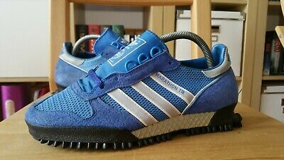 ADIDAS MARATHON TR Vintage 80s 1984 Yugoslavia Schuhe Uk 6 shoes trainers West