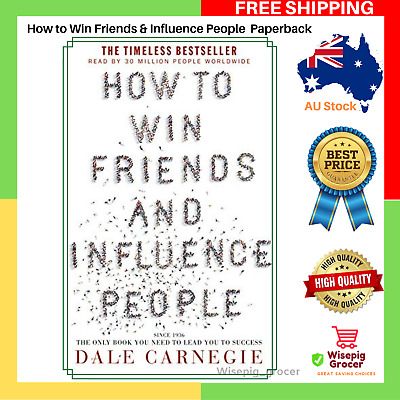 BRAND NEW How to Win Friends & and Influence People Paperback Book FREE SHIPPING