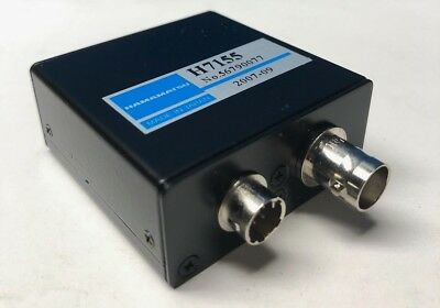 Hamamatsu Photonics H7155 Metal Package PMT - Photon Counting Head