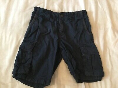 H&M boys blue shorts - age 5-6 years