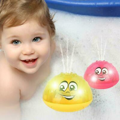 Children's Electric Induction Water Spray Sprinkler Toy Water Play Toy Bath N3B9