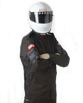 Black Jacket Single Layr 5X-Large RACEQUIP/SAFEQUIP 111000