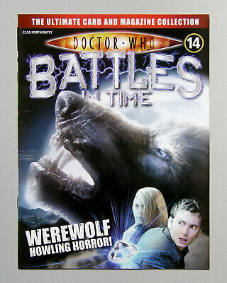 Dr DOCTOR WHO BATTLES IN TIME Magazine Issue #14 WEREWOLF 2007