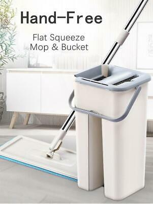 Combination of mops Clever Clean Free hand Wash Mop Floor System