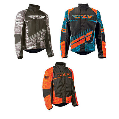 Fly Racing 2020 Snow Adult Aurora Snowmobile Jacket Black XL