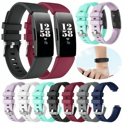 Silicone Watch Strap Wristbands Bracelet Band for Fitbit Inspire / Inspire HR