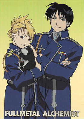 Fullmetal Alchemist Trading Card Carddass Masters 2 SP4 Roy Mustang x Riza