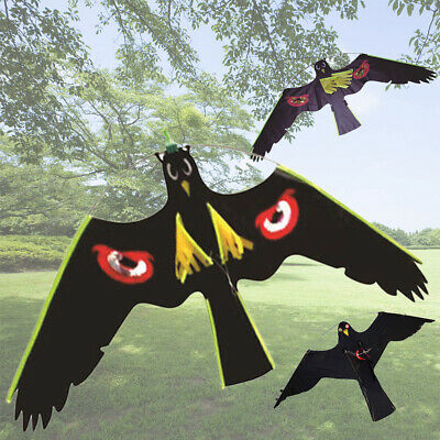 Flying Hawk Scarecrow Garden Bird Scarer Yard Kite Crow Repeller Home Decoration