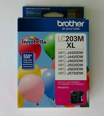 Brother Lc203M Xl Genuine Magenta High Yield Ink Cartridge - Sealed