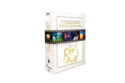 The Collected Works of Hayao Miyazaki Blu-ray Box Set Complete Sealed New