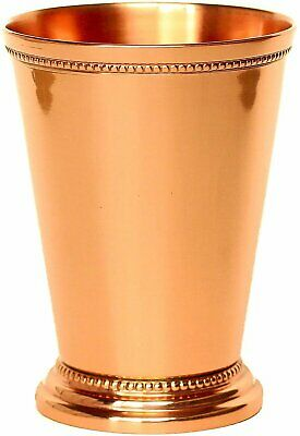 Mint Julep Cup Pure Copper Moscow Mule Mint Julep Cup beautifully handcraft 12oz