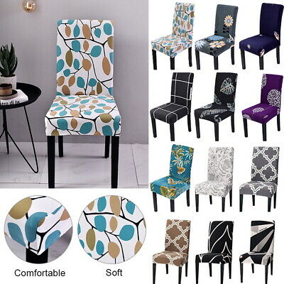Stretch Spandex Chair Covers Slipcover Dining Room Wedding Banquet Party Decors