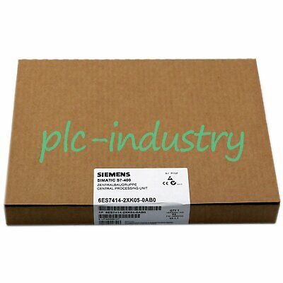 New In Box SIEMENS Processor Unit 6ES7 414-2XK05-0AB0 1 year warranty
