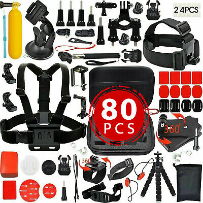 Camera GoPro Accessorie Kit Action Camera Mount Full Accessory set Bundle Sports