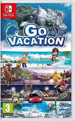 Go Vacation (Nintendo Switch) BRAND NEW SEALED