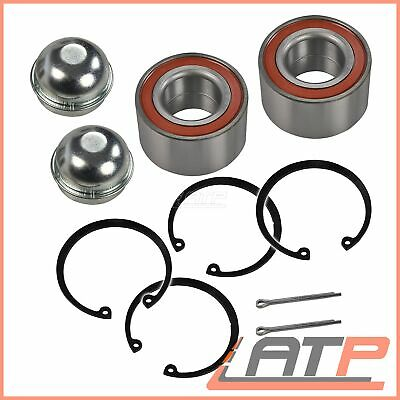 2x WHEEL BEARING KIT FRONT LH + RH VAUXHALL COMBO MK 2 1.3 FROM 2005 ONWARDS