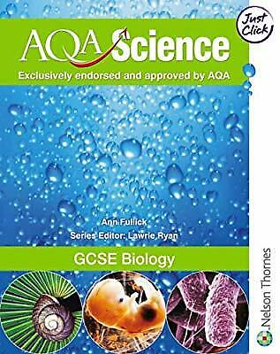 GCSE Biology (AQA Science), Ann Fullick, Used; Good Book