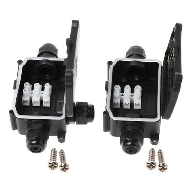 Professional 2/3Way Outdoors Waterproof IP66 Cable Connector Junction Box Case