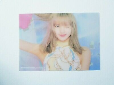 BlackPink LISA Official Clear Card - Official 2019 Photobook LIMITED EDITION