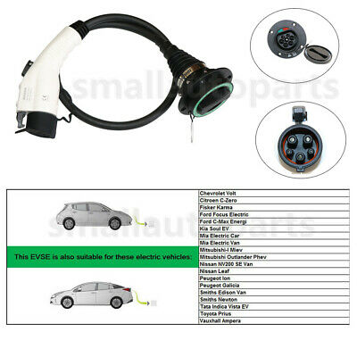 New Vehicle Electric EV Car Charger Charging Cable Plug For Jeep Dodge Nissan