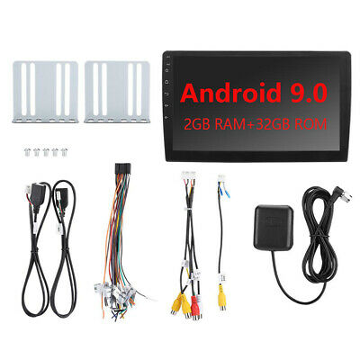 "10.1"" Android 9.0 Car Stereo MP5 Player WIFI GPS FM Radio Double 2DIN 2+32GB+CAM"