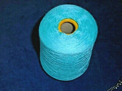 460gm - BRAMWELL - SILKY - 2/29 - TURQUOISE - HAND/MACHINE KNITTING YARN  new