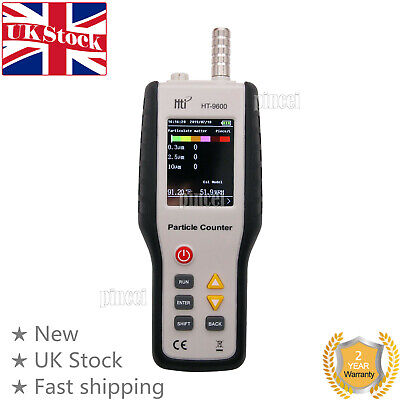 PM2.5 Detector Air Quality Monitor Particle Counter Gas Analyzer Dust Sampling