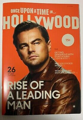 Once Upon A Time In Hollywood - Rise of a Leading Man RARE Magazine Tarantino.