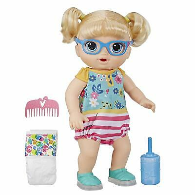 Baby Alive Step 'N Giggle Baby Blonde Hair Doll with 25+ Sounds and Phrases Toy