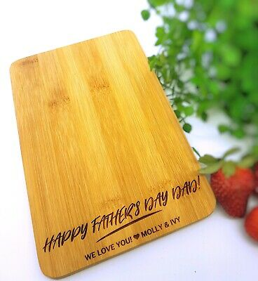 Personalised Chopping Board Bottle Opener Engraved Fathers Day Gift  **SPECIAL**