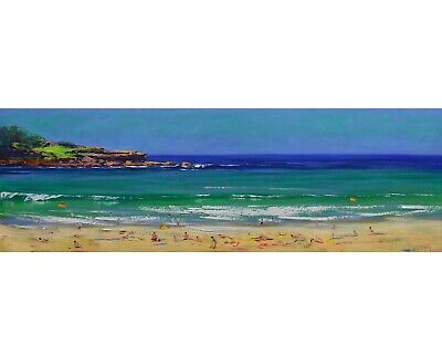 Bondi Beach, Australian beach, Beach Painting, Original oil painting, large oil