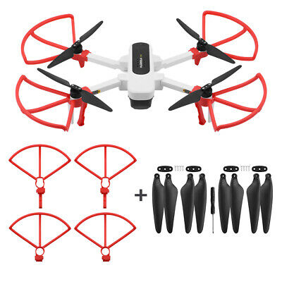 Protective Landing Gear Feet Stands Propeller Guard Cover for Hubsan Zino H117S