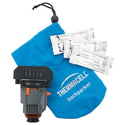 Thermacell Backpacker Insect Repeller - 15Ft Zone Protection