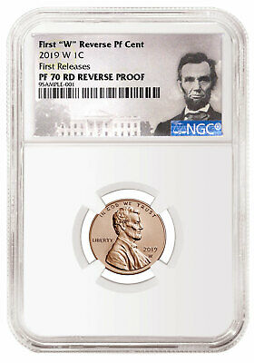 2019 W Reverse Proof Lincoln Cent NGC PF70 RD FR Lincoln Label SKU57893