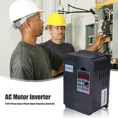220V 1 Input 3 Phase Output AC Motor Variable Frequency Drive Inverter Converter