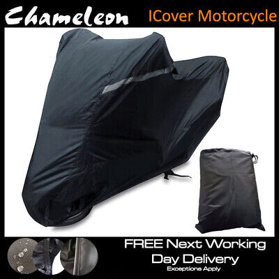 Motorcycle Cover (X-Large) Protective Heavy Duty Waterproof 210D Oxford Material
