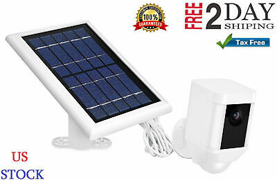 Solar Power Panel for Ring Spotlight Camera Battery Charger - by Wasserstein New