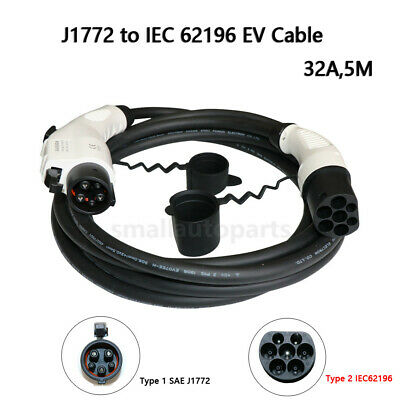 New Electric Vehicle Charger EV Charging Cable 32Amp 250V For BMW Jeep Tesla