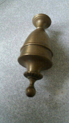 Antique  / Vintage Solid Brass Ceiling Light Counterweight  - 5 Inch Tall
