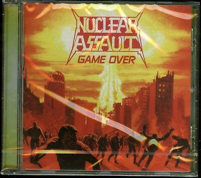 Nuclear Assault Game Over / The Plague 2011 remaster CD new
