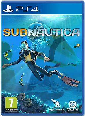 Subnautica PS4 Sony PlayStation 4 Game - New and Sealed - Free UK P&P