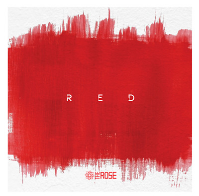 """The Rose 3rd Single Album """" RED """" Official - 1 Photobook + 1 CD / Free Ship"""