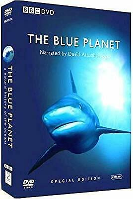 The Blue Planet - Complete BBC Series [DVD], David Attenborough, Used; Good DVD