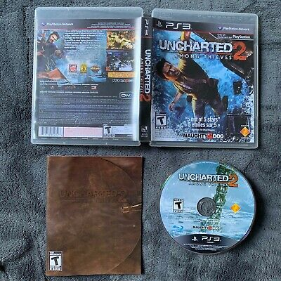 Uncharted 2: Among Thieves (PS3 PlayStation 3) Free Shipping Canada
